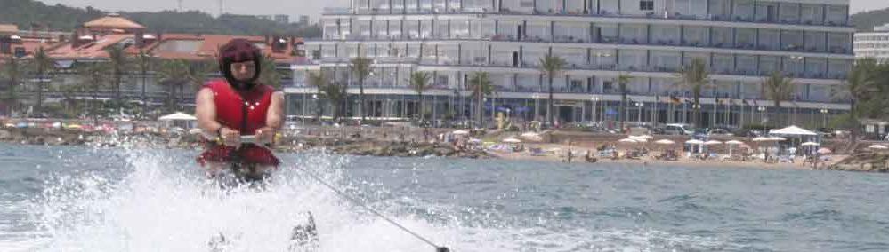 Water Ski & Banana Sitges Barcelona